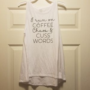 Handcrafted tank top